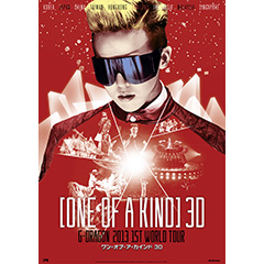G-DRAGON (from BIGBANG)「映画 ONE OF A KIND 3D ~G-DRAGON 2013 1ST WORLD TOUR~ DVD」